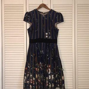 Chelsea 28 Blue Floral Dress